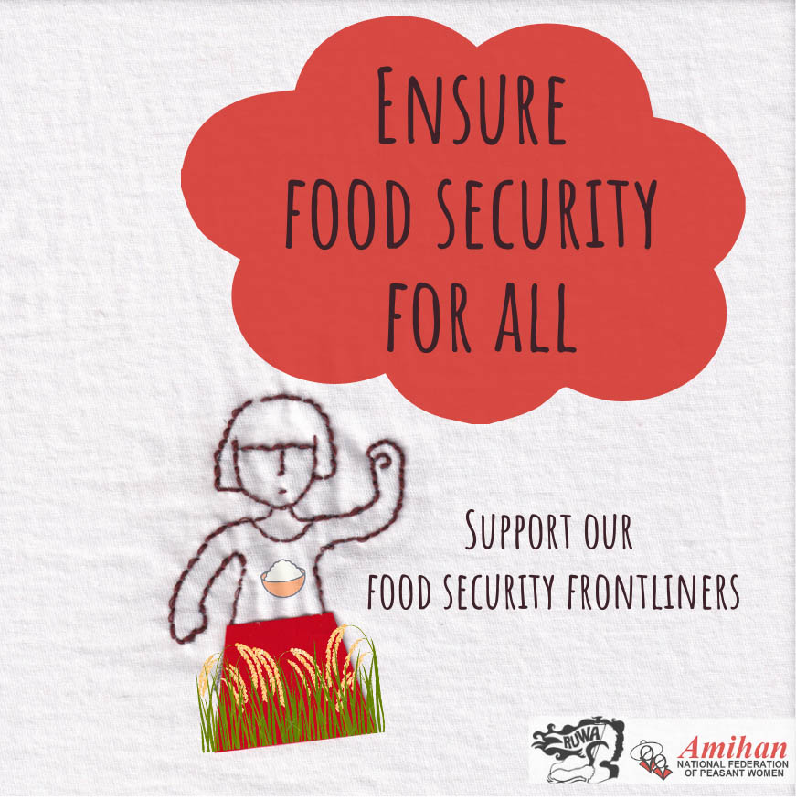 Support the Food Security Frontliners