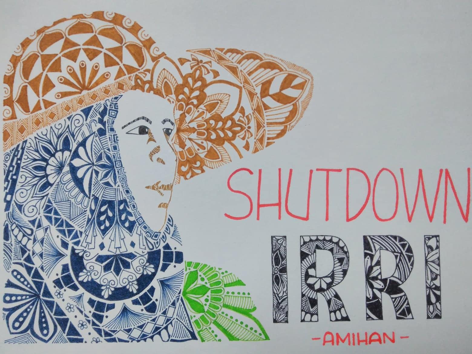 Shutdown IRRI