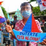 #Atin ang Pinas #ChinaLayas Peasant women join Araw ng Kalayaan protest to defend the West Philippine Sea