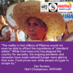 The real Filipino food standard is worsening hunger